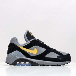 Nike Air Max 180 Shoes – Cool Grey/Wheat Gold/Black 84.99 @ Urban Industry
