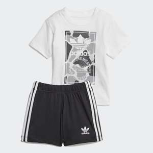 Kids adidas Camo Trefoil Shorts and Tee Set (was £24.95) Now £12.22 + Free Delivery at adidas