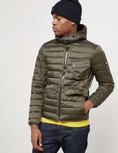 Barbour International Ouston Padded Jacket was £180, now half price £90 tessuti