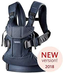 BABYBJÖRN Baby Carrier One Air, 3D Mesh, Navy Blue, 2018 Edition - £101.20 @ Amazon
