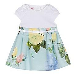 Upto 50% off Ted Baker baby & kids eg baby boys romper was £20 now £10, baby girl rose print dress was £32 now £16 + Free C&C @ Debenhams