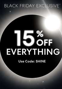 15% off everything at Bareminerals + free delivery + 22% TCB