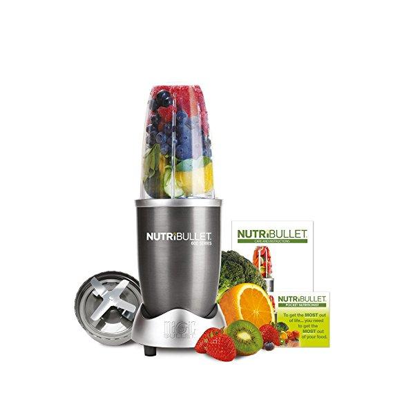 NutriBullet 600 Series Blender, 600 W, Starter Kit, 5-Piece Set (Graphite) - was £69.95 now £39.99 @ Amazon
