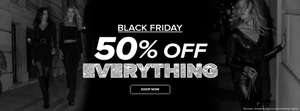 50% off everything + Free Delivery* at Select Fashion