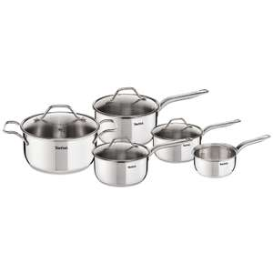 Tefal - Intuition' stainless steel set of 5 cookware set - £55 @ Debenhams