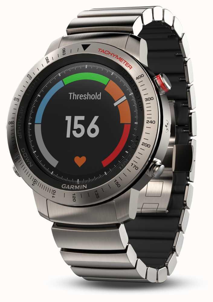 Garmin Fenix Chronos GPS Titanium Hybrid @ £755.25 - First Class Watches