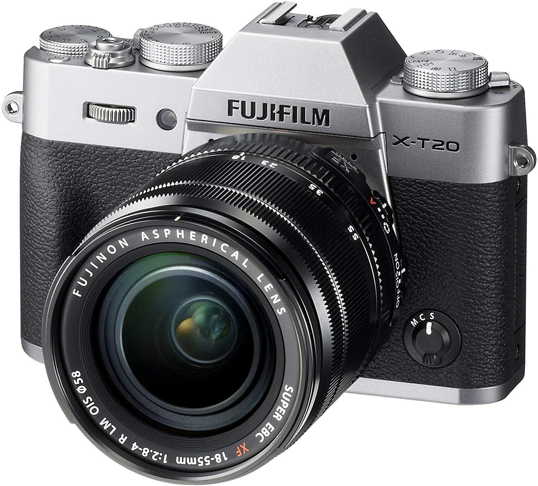 Fujifilm Double Cashback! X-T20 XF18-55 £709 w/cashback