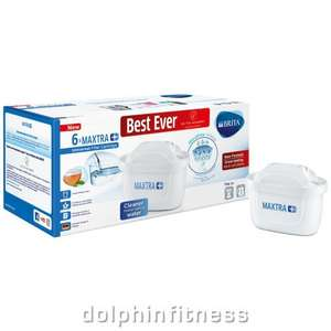 BRITA Maxtra+ Water Filter Cartridges, White, Pack of 6 £19.95 free delivery at Dolphin Fitness