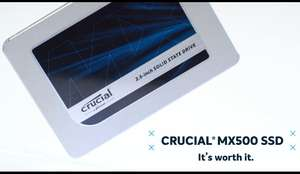£209.98 Crucial 2tb MX500 SSD at Ebuyer (NOW OOS BUT PRICE MATCHED AT AMAZON, link in description)