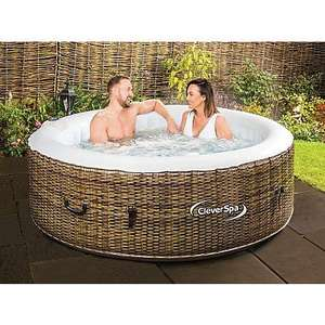 CleverSpa Borneo Inflatable hot tub was £300