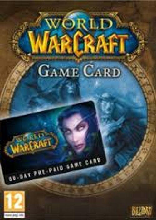 Warcraft 60 days game card - £17.99 @cdkeys