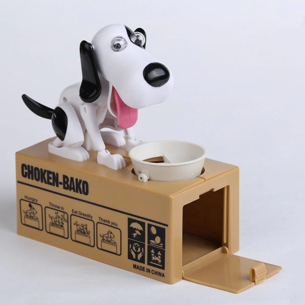 Dog Coin Eating Money Box £4.67 delivered at Rosegal