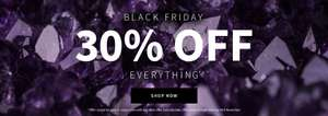 Black Friday 30% off everything @ Pia Jewellery during chekout