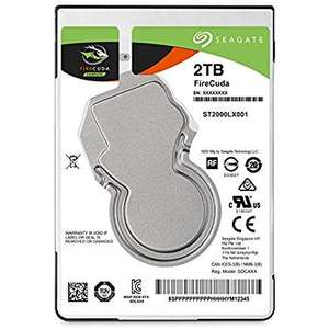 Seagate Firecuda 2TB SSHD for PS4 & PC (Amazon Prime) £76.79