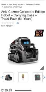 Anki cozmo collectors edition+case+tracks at Costco for £124.99