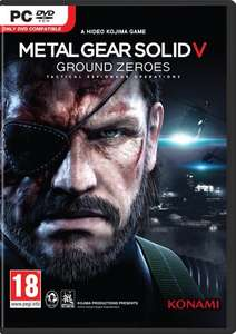 Metal Gear Solid V 5: Ground Zeroes (Steam) 99p @ CDKeys (MGSV £2.99)