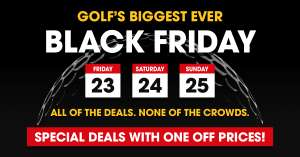Decent golf black friday deals at Clubhouse Direct
