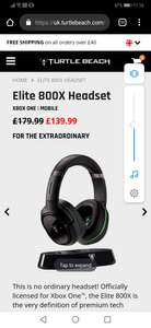Turtle Beach X800 XB1 AND PS4