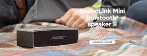 SoundLink Mini II—Factory Renewed at Bose for £89.95