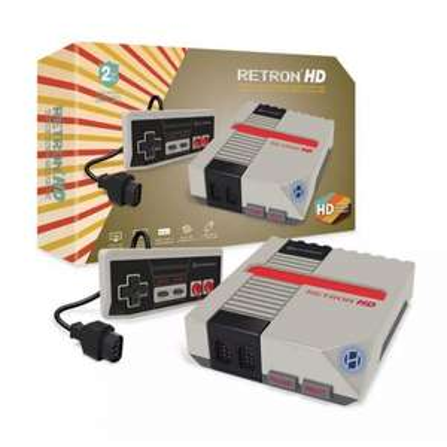 RETRON HD GAMES CONSOLE FOR NES CARTRIDGES - GREY - £19.99 @ Funstock Retro