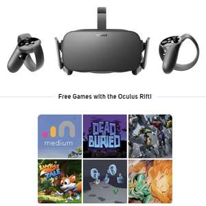 Oculus Rift + Touch VR Gaming Bundle + 6 Games & 2 year warranty £348.98 + Free Del  @ Scan