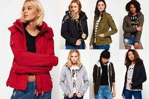 New Womens Superdry Jackets Selection - Various Styles & Colours £27.99 Delivered @ Superdry eBay Store