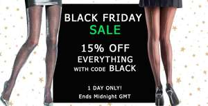 15% off Black Friday or 10% off Cyber Monday w/code @ UK Tights