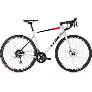 Cube Attain Pro Disc Road Bike 2018 model with Shimano Sora group set £575 delivered all sizes in stock @ Tweeks Cycles