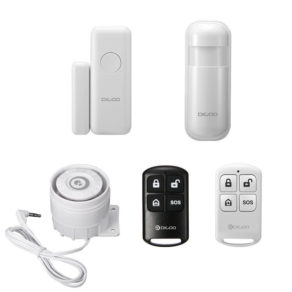 Window Door Sensor PIR Detector Wireless Remote Controller Alarm System - £2.94 @ banggood