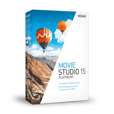 VEGAS Movie Studio 15 Platinum at Vegas Creative for £44.99 or upgrade £39.99