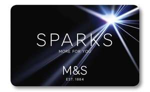 M&S Sparks Save £2 when you spend £15 on food and Food to Order with £5 off £25 or more