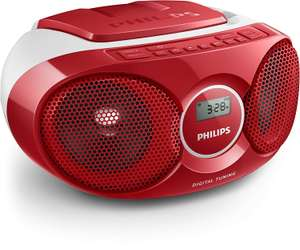 Philips AZ215R Boombox FM Radio CD Player MP3 Link Stereo Speakers - £22.99 @ Argos eBay