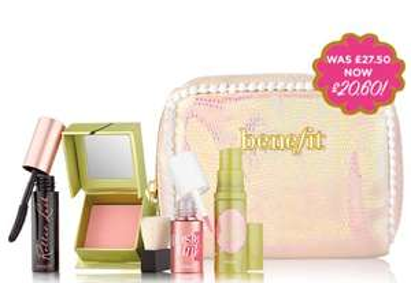 Benefit I PINK I love you Gift Set + 2 Free Samples £20.60 delivered at Benefit Cosmetics