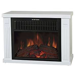 Decorative Fireplace 29.99 free delivery over 35 at Clas Ohlson
