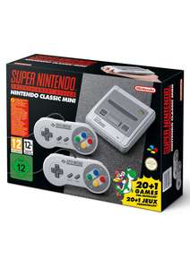 Super Nintendo Entertainment System Classic Edition (SNES MINI) @ simplygames.com - £49.85