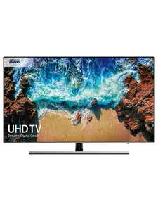 "Samsung UE55NU8000 55"" HDR 1000 4K Ultra HD Smart TV (120Hz, Low Input Lag) £729.99 John Lewis & Partners"