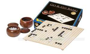 Philos Tournament Go Set - full size board with feet, wooden bowls & plastic stones £61.78 @ Amazon