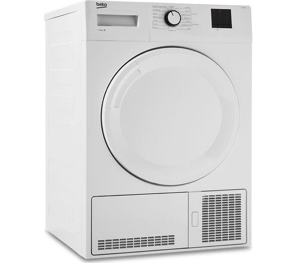 BEKO DTBC8001W 8 kg Condenser Tumble Dryer - White £179.10 w/code @ Currys