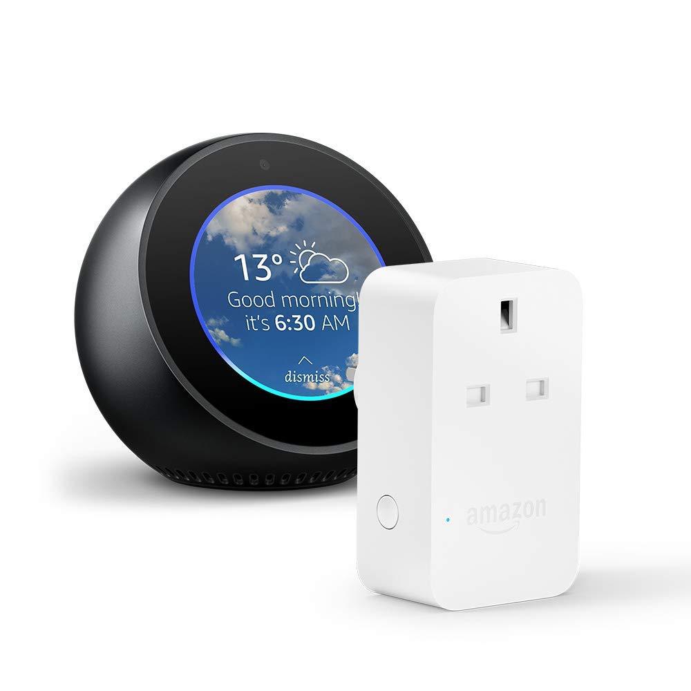 Amazon Echo Spot + Amazon Smart Plug £99.98
