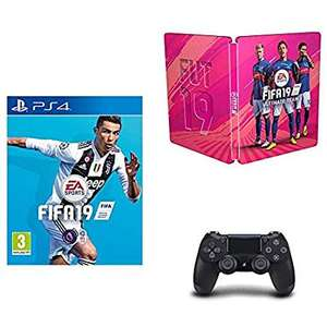 Fifa19 + steelbook + controller for £59.95 on Amazon UK