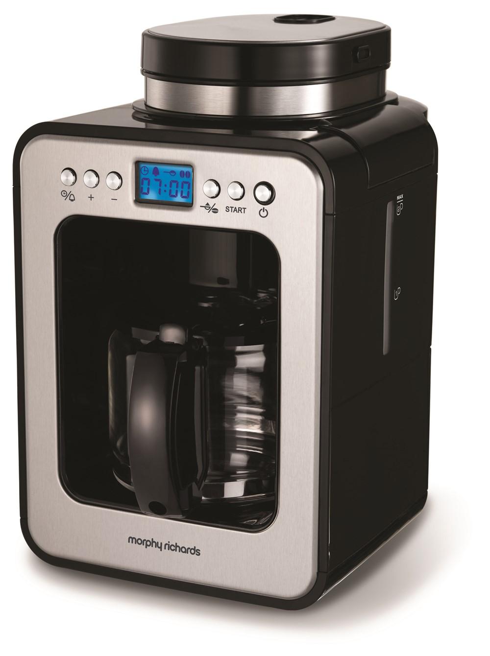 Morphy Richards Bean to Cup Evoke Black Grind & Brew Filter Coffee Machine £60 @ Morphy Richard