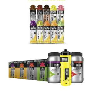 SiS Training Bundle £33 Delivered + Free Mixed Isotonic 20 Gel Pack @ SiS