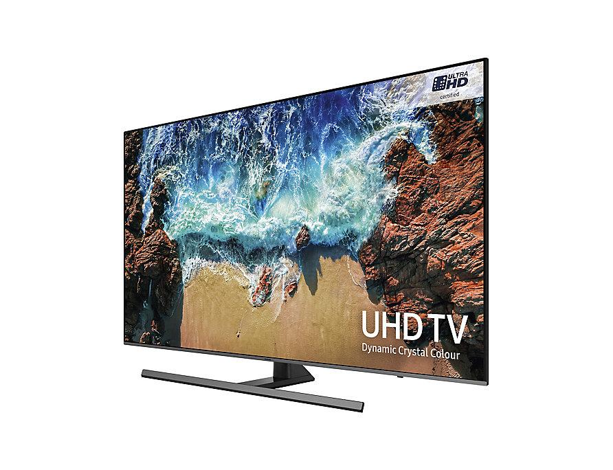 "SAMSUNG UE55NU8070 55"" Dynamic Crystal Colour UHD HDR 1000 True 10bit 4K TV + 5 year guarantee @ Currys"
