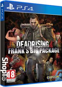 Dead Rising 4: Franks Big Package (PS4) £12.85 Delivered @ Shopto / Shopto eBay