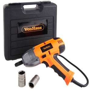 Vonhaus 240v 500nm corded impact wrench with 2 year guarantee £34.99 delivered @ Domu