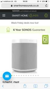 Sonos One with built in Alexa £159 @ Smart Home Sounds
