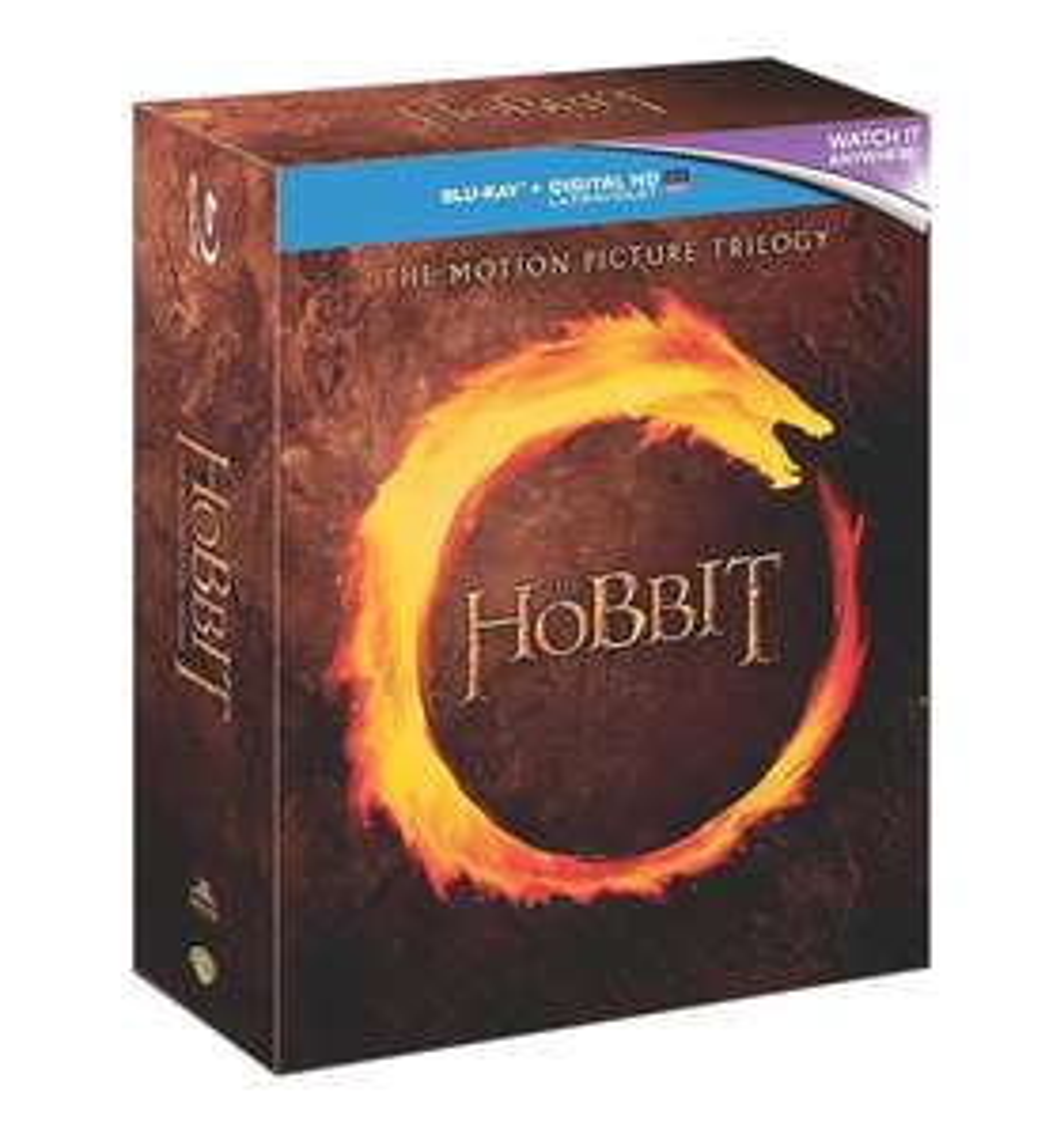 The Hobbit Trilogy Blu-Ray - AMAZON - £12.69 + £2.99 delivery non Prime @ Amazon