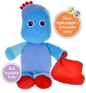 In the Night Garden NEW Snuggly Singing Iggle Piggle Soft Toy, 29cm was £14.99 now £8.38 @ Amazon Prime