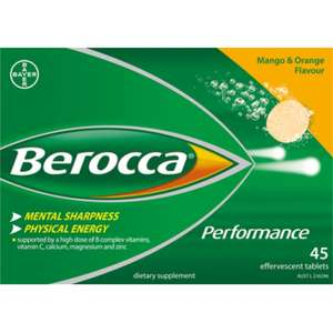 Berocca Mango 45 Tablets Poundstretchers £5.00