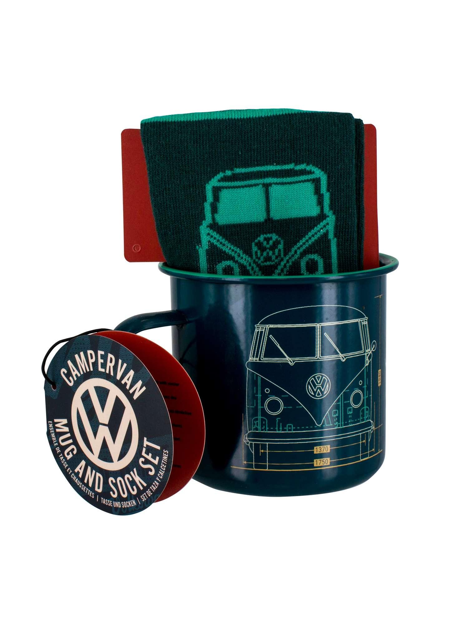 VW Camper Mug Sock Set £9.10 + £4.99 Delivery @ House of Fraser